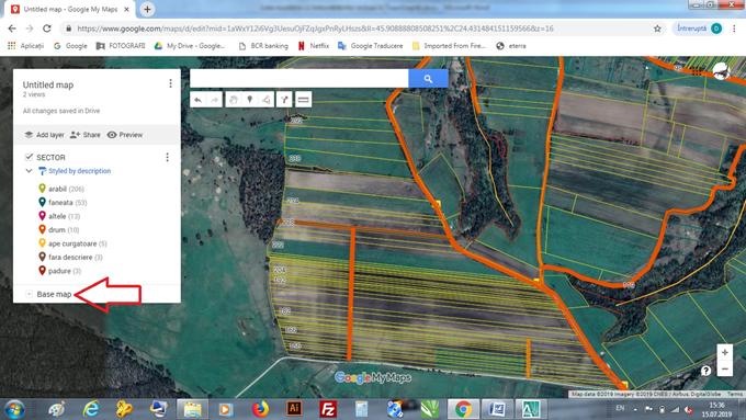 POLILINII 2D in google earth cu Topograph TOPOCOM.png
