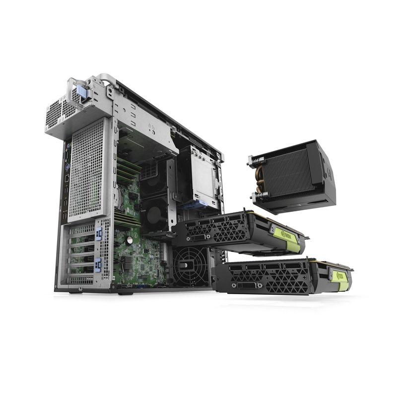 Workstation DELL Precision T5820, Intel QUAD Core Xeon W-2123 3.60 GHz, 32GB DDR4 ECC