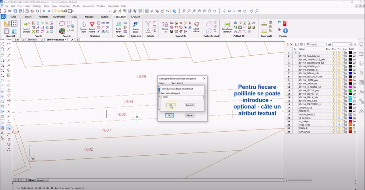🎬 Tutorial Video - Generarea de fisiere de tip ESRI SHP direct din AutoCAD sau BricsCAD