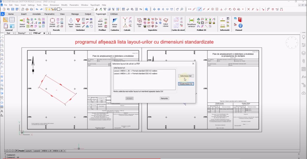 🎬 Tutorial Video - Crearea automata de fisiere PDF din layout uri standardizate